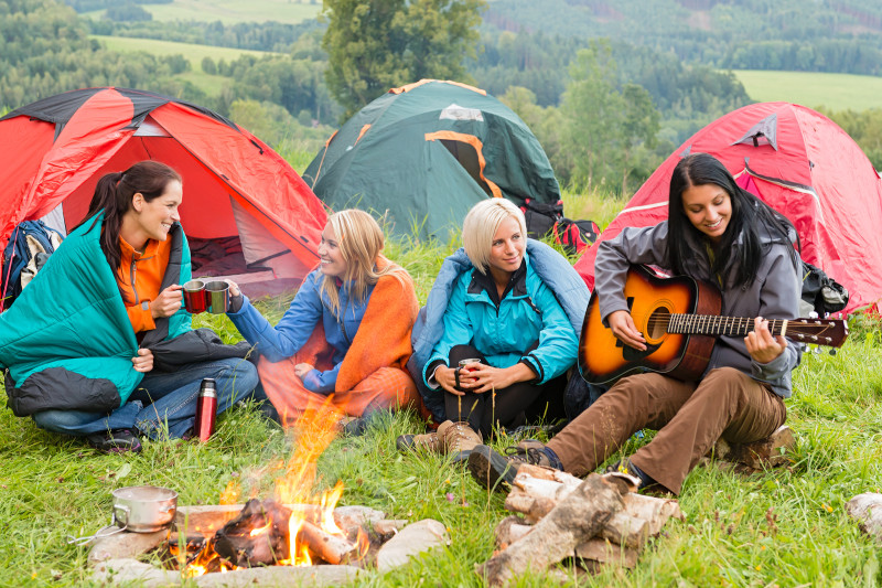 How To Build A Controlled Campfire