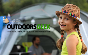 Outdoors Geek gear for sale or rent