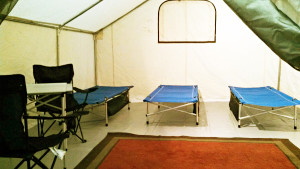Renting hunting tents and equipment in Denver