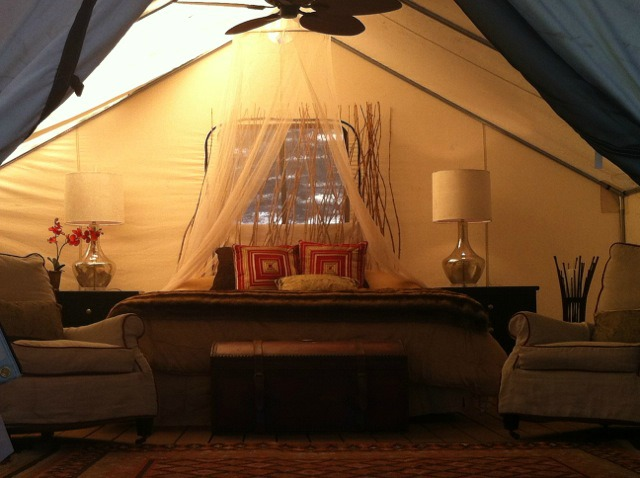 Glamping in the USA