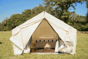 Outdoors Geek glamping package for two