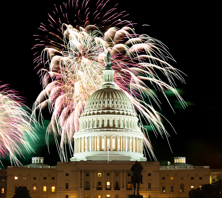 Celebrate July 4th in the Capital