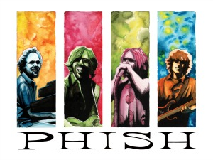 Phish Music Festival and Camping Extraordinaire
