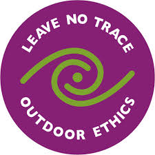 purple circle leave no trace