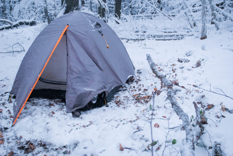 Camp this winter in a yurt and leave your tent behind, winter camping preparations