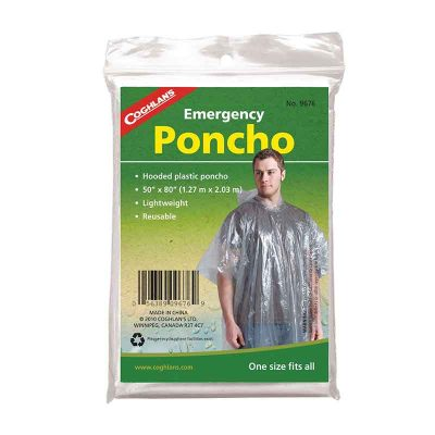 Clear Poncho Packaging