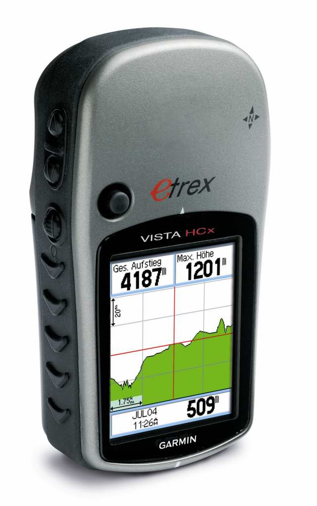 Garmin ETREX Vista CX Handheld GPS Rental - Outdoors Geek