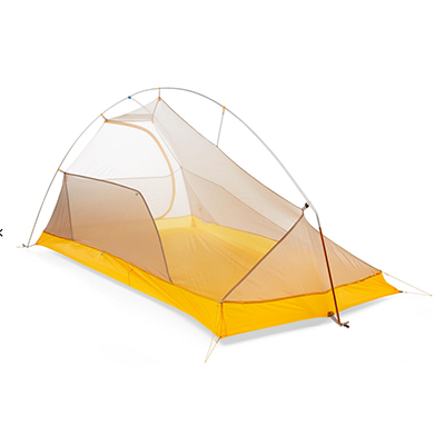 Yellow Tent Without Footprint