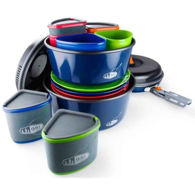 Camper cookware overview
