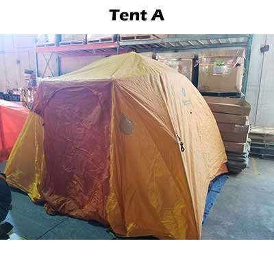 Front rainfly tent A