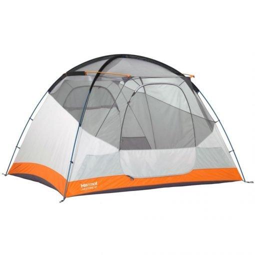 orange 6 person tent
