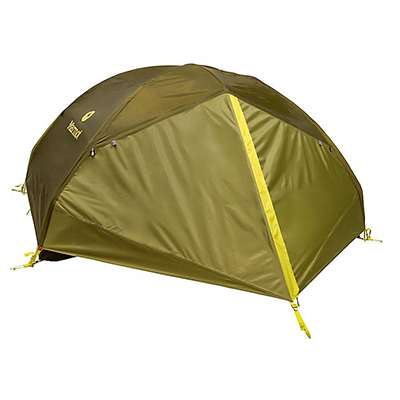 Moss Green Tent With Fly