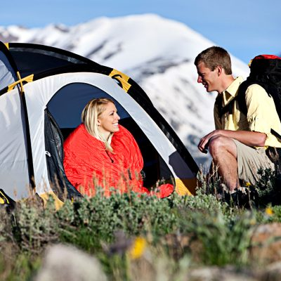 Rent camping packages in Denver