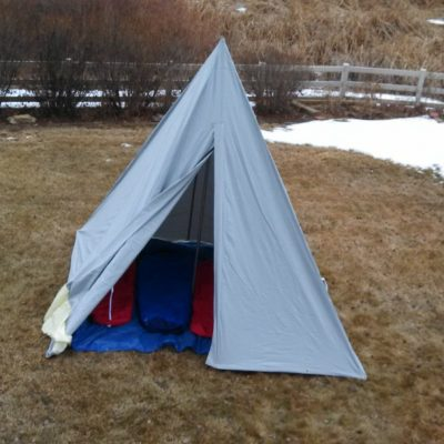 10X10 Canvas Tipi Hunting Tent Rental & Hunting Tent | Wall Tent | Big Game Hunting | Canva Tent