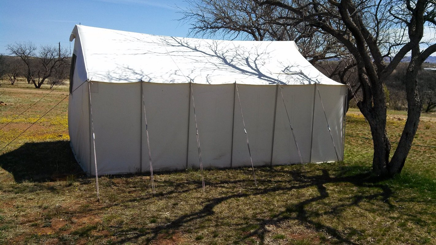 This image is a traditional frame canvas tent. & Canvas Hunting Tent | Canvas Tent Rental | Hunting Tent