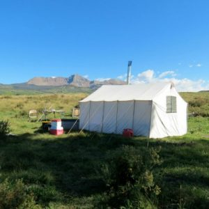 Rent canvas wall tent for hunting