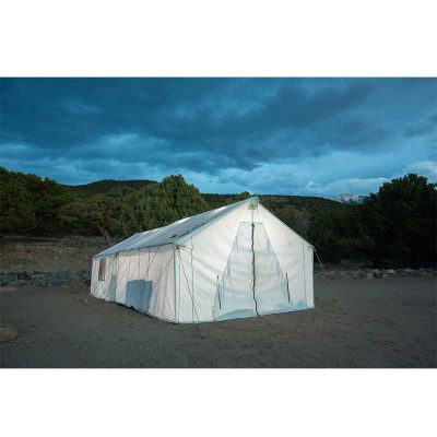 Wall Tent Exterior Front View