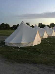 Glamping tents for rent