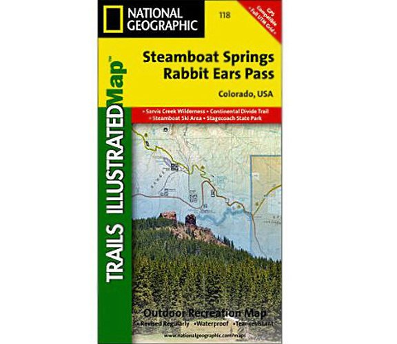 Steamboat Springs/Rabbit Ears Pass Trail Map - Outdoors Geek