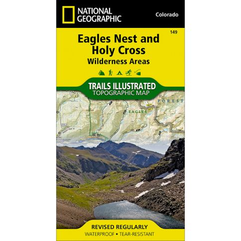 Eagles Nest and Holy Cross Trail Map - Outdoors Geek