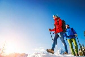 Rent winter hiking gear Denver