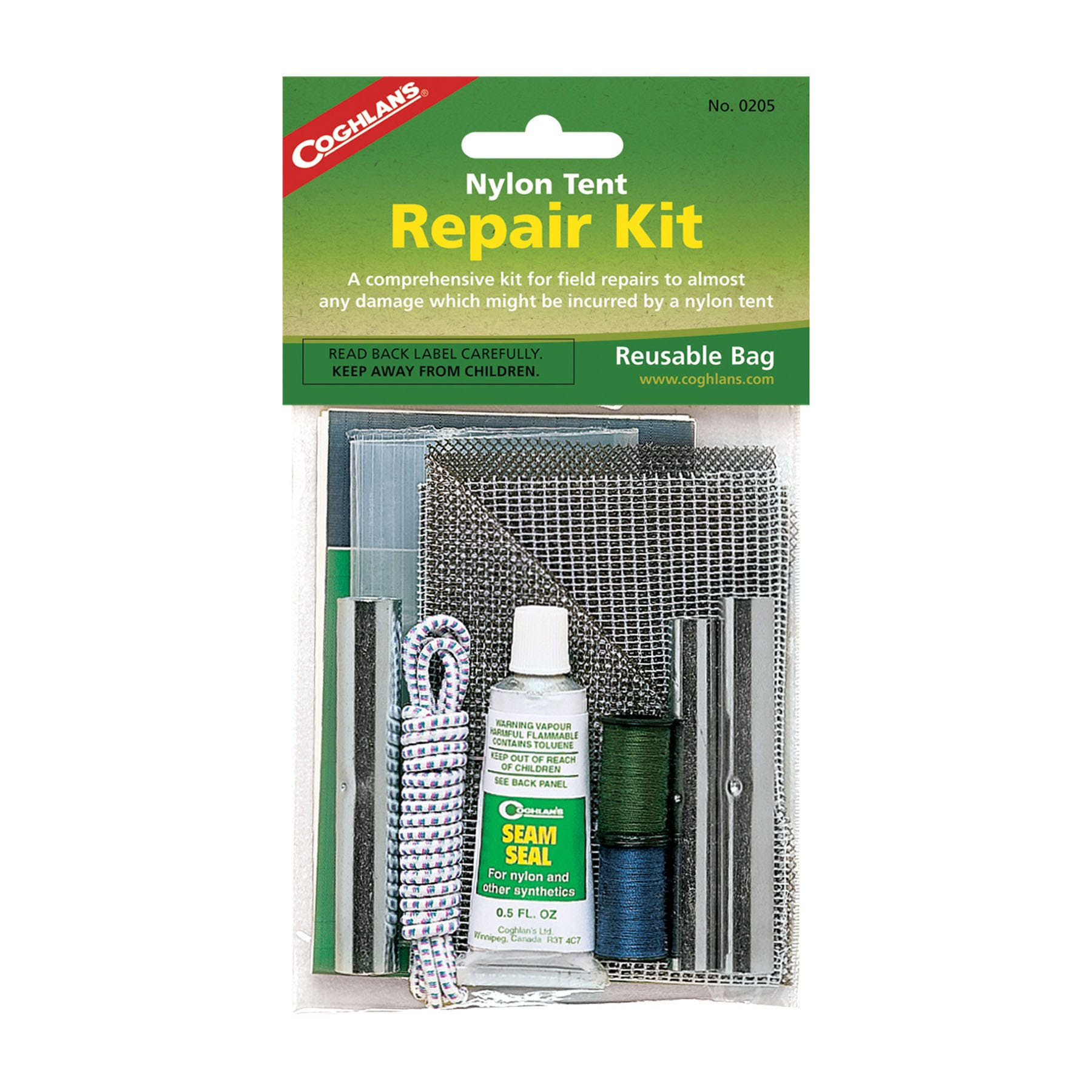 Coghlanu0027s Nylon Tent Repair Kit  sc 1 st  Outdoors Geek & Coghlanu0027s Nylon Tent Repair Kit - Outdoors Geek