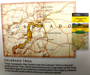 Map of Colorado Trails