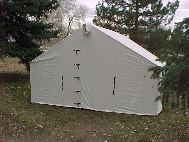 Rent canvas wall tents