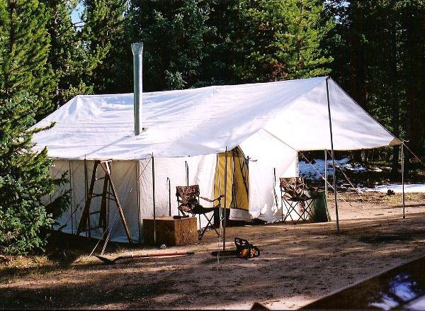 The highest quality huntin tent in the industry