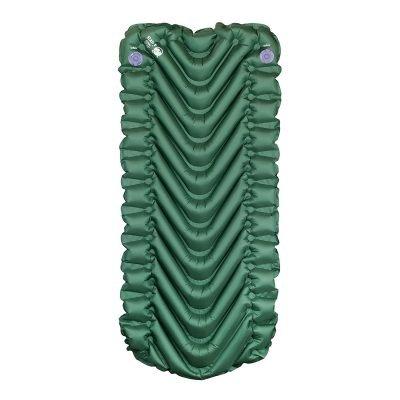 Green children's sleeping pad