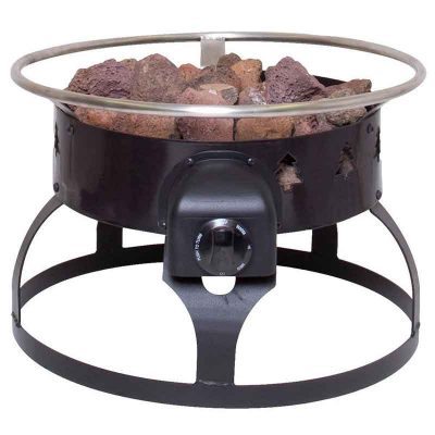 Fire pit front