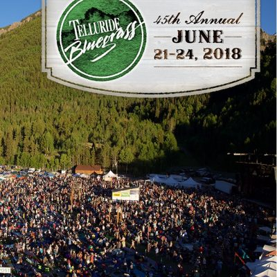 bluegrass festival in mountains