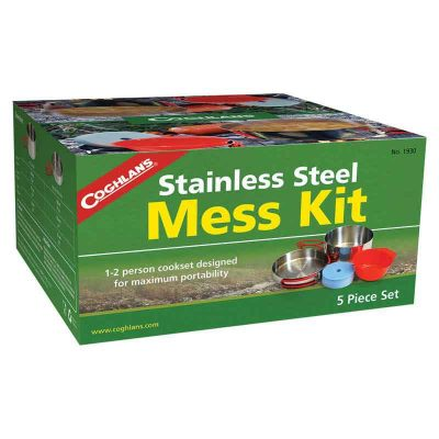 mess kit packaging