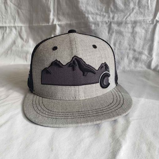 Hat Front Mountain View