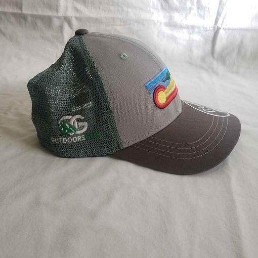 Rainbow Hat Side View