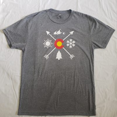 Aksels Mens Arrow Shirt Front View