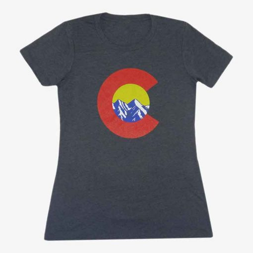 Womens Gray Front