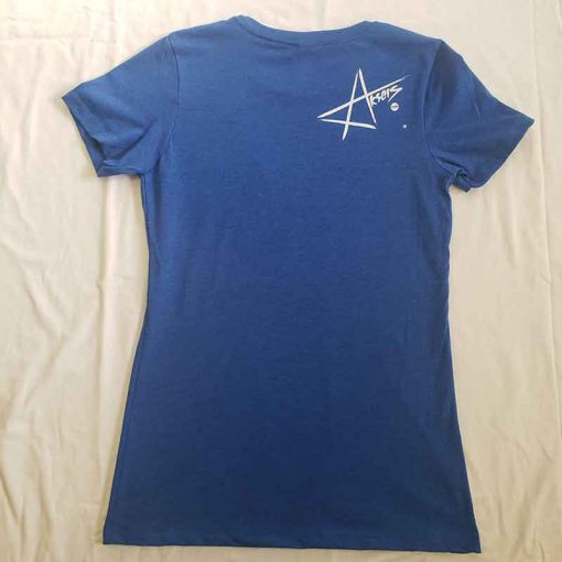 Women's Blue shirt Back