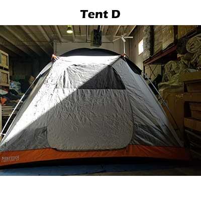 body of tent D