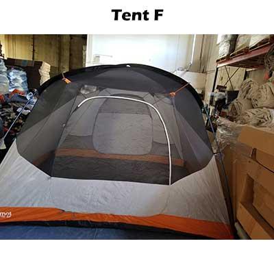 6 person tent body. Tent F