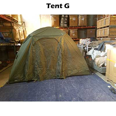 6 person tent with rainfly. Tent G